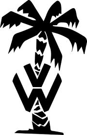 volkswagen logo black and white. free vector graphic afrikakorps volkswagen logo palm image on pixabay 645596 black and white k