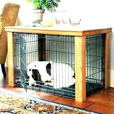 Pet Crate Furniture Dog Kennel End Table35