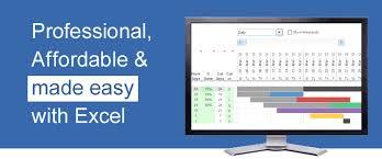 Gant Chart Pro Gantt Chart Template Pro For Excel
