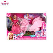 """<b>Кукла</b> """"<b>КАРАПУЗ</b>"""" София 29см принцесса, с единорогом, с ..."""