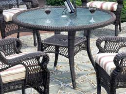 lawn chair table wicker patio table round patio armor deluxe round table chair set cover