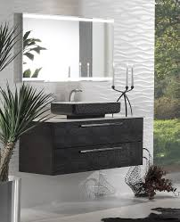 Topex Design A Wall Mounted Vanity Collection Featuring Faux Crocodile