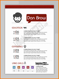 unique resume template 5 cv template for graphic designer theorynpractice