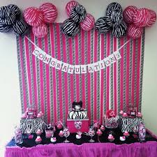 African American  Baby Shower Party InvitationsPink Zebra Baby Shower Invitations