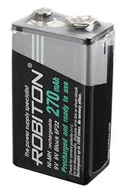 <b>аккумулятор Robiton RTU270MH</b> 6F22/<b>Крона</b>-bulk по самой ...