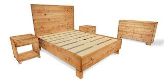 Amazon.com: Rustic and Reclaimed Wood Style 5-Piece Bedroom ...