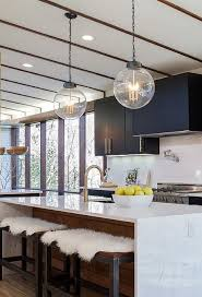 contemporary kitchen lighting. cool clean and contemporary check out the full messy midcentury modern house makeover kitchen lighting pinterest