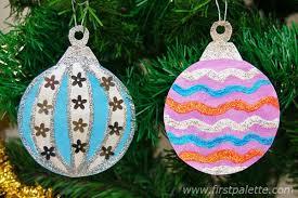 DIY Yarn Christmas Tree Ornaments  Find Fun Art Projects To Do At Christmas Tree Ornaments Crafts