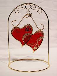 40th anniversary gifts for her with 40 year wedding anniversary gift ideas for pas plus 40th