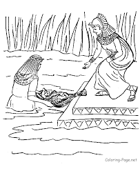 Small Picture Baby Moses Images Coloring Coloring Pages