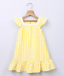 Beebay Size Chart Loving This Beebay Yellow Gingham A Line Dress Infant