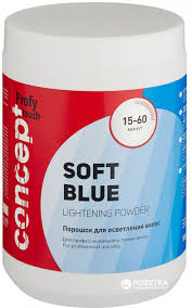 Порошок Concept <b>Soft</b> Blue Lightening Powder для <b>осветления</b> ...