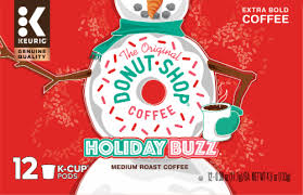 Not too harsh, not too bitter; King Soopers The Original Donut Shop Holiday Buzz Medium Roast Coffee K Cup Pods 12 Ct