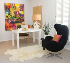 home office arm chair. Office:Modern Home Office Ideas With Black Armchair And Side Table Bulletin Board Also Arm Chair E