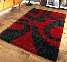 red and black rug vista red black rugs modern rugs red white black area rug abstract