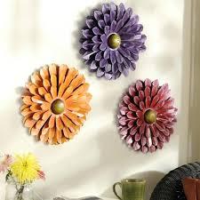 flower wall decor fair metal flowers wall decor design ideas of metal white flower wall decor
