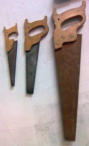 hand saw types. hand saw types o