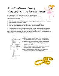 Costume Measurement Template Kozen Jasonkellyphoto Co