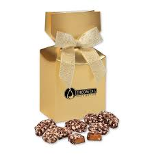 english er toffee in gold gift box
