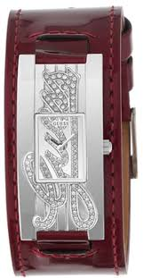 brand guess accessory type strap gloss type medium light color classification red gold buckle red rose gold buckle red steel on size