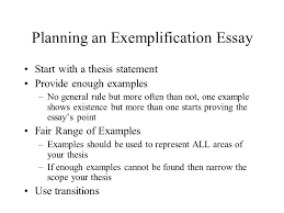 exemplification kirszner mandell defined exemplification uses  7 planning an exemplification essay