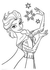 dibujos para imprimir de frozen el reino del hielo