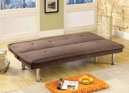 Decorate Small Apartement With Classic Brown Love Seat Sofa Beds