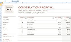 Free Contractor Bid Forms Under Fontanacountryinn Com
