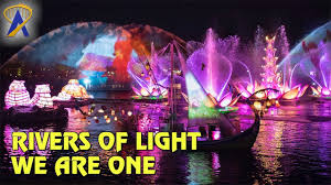 Rivers Of Light Animal Kingdom Times Rivers Of Light We Are One Full Show At Disneys Animal Kingdom