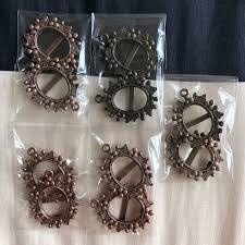 vintage pendant frame design craft craft supplies tools on carou