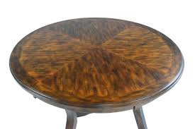 gia light brown round table with 4 chairs media image 4