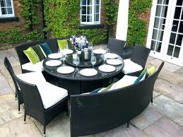 circular outdoor seating circular outdoor seating innovative round patio dining sets round table outdoor dining sets