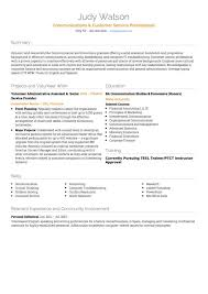 Related Free Resume Examples Pinterest