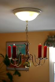 chandelier candle retro fit regarding with candles decor 12