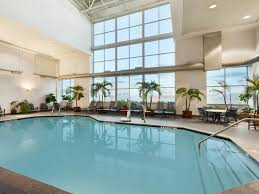 indoor pool and hot tub with a slide. Heated Indoor Pool Hot Tub And Fantastic View With A Slide