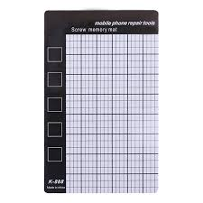 Us 1 15 15 Off 1pcs Magnetic Screw Mat Memory Chart Work Pad Mobile Phone Repair Tools 145 X 90mm Palm Size In Hand Tool Sets From Tools On