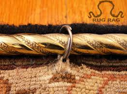 rug rod rings hanging mouting