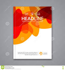 Poster Templet Vector Poster Flyer Template Abstract Colorful Background For