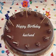 Beautiful Birthday Cake For Husband With Name Birthdaycakeformomcf