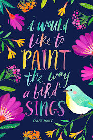 Quote Art Extraordinary Bird Quote Printable Art Studio Or Craft Room Decor Motivational