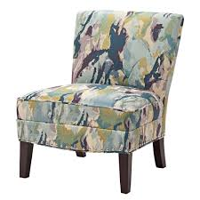 Madison Park Alex Curved Back Slipper Chair--Blue - Free Shipping Today -  Overstock.com - 17880160