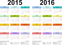 two year calender two year calendars for 2015 2016 uk for excel