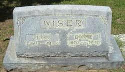 Bonnie Busheart Wiser (1870-1941) - Find A Grave Memorial