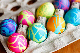 How To Color Easter Eggs W Rubber Cement Unsophisticook