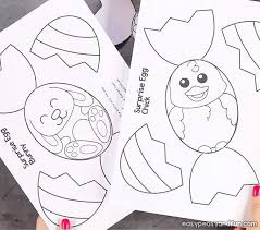 Surprise Easter Eggs Craft Easy Peasy And Fun