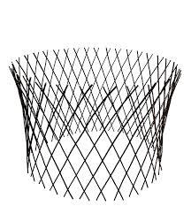 com master garden s circular willow lattice fence 30 by 60 inch outdoor decorative fences garden outdoor
