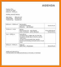 Free Agenda Samples Mesmerizing Free Agenda Samples 48 Combinedresults