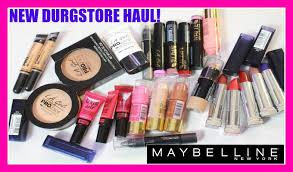 new makeup haul 2016 maybelline la haul