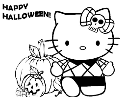 Small Picture Cute Halloween Coloring Pages GetColoringPagescom