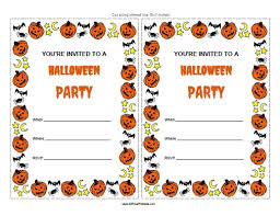 Free Halloween Birthday Invitation Templates Free Printable Halloween Party Invitations Free Printable